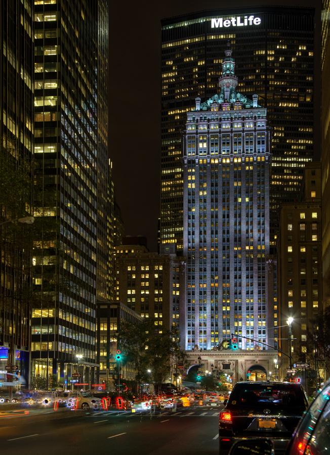 New York Architecture Photos New York At Night
