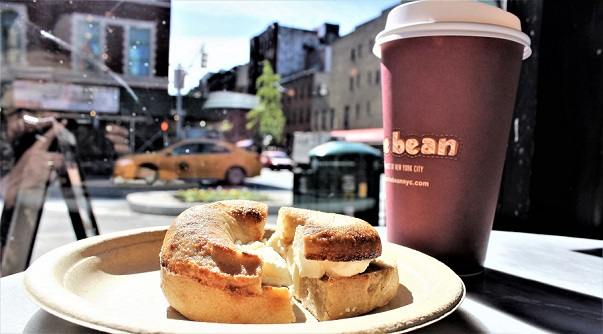 Bagel_coffee_The_Bean