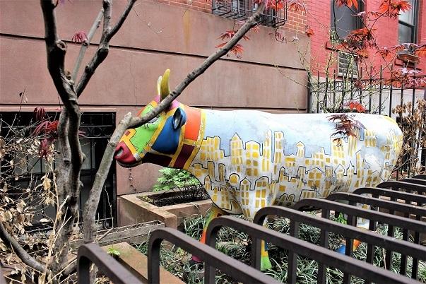 Cow garden NYC