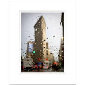 Flatiron Building Rainy Day Art Print FIBC010 MW1620