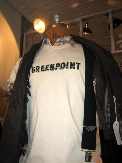 Greenpoint t-shirt