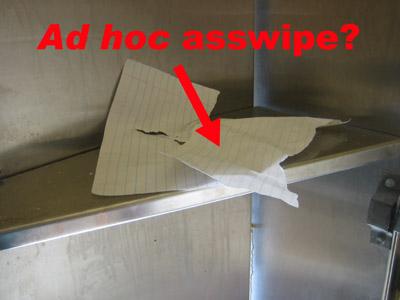Ad Hoc Asswipe