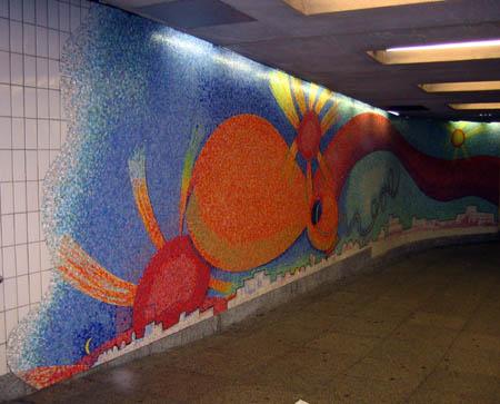 Elizabeth Murray Mural, 23rd Street and Ely Avenue