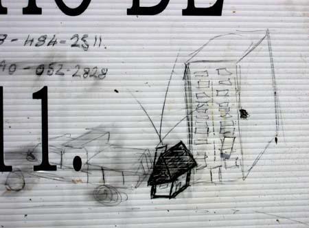 Newell Street Drawing
