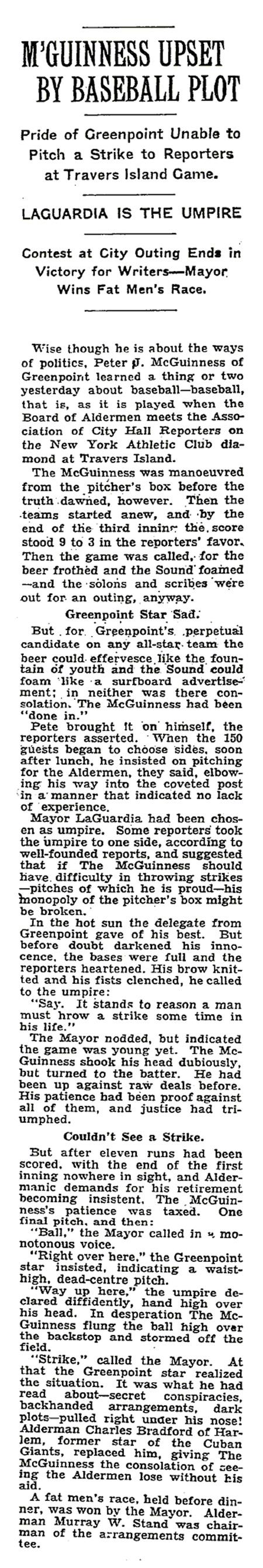 July 13, 1934 NYT