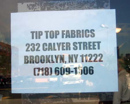 Is A New Fabric Store Coming To Greenpoint Newyorkshittycom