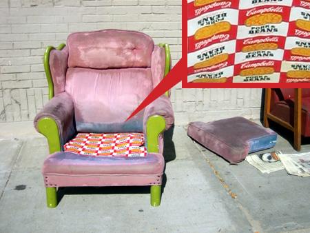 Pork and Bean Chair