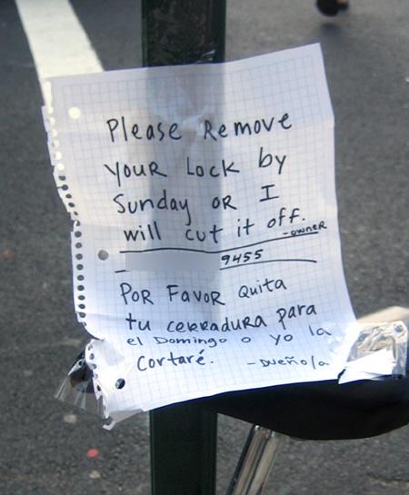 Follow-up sign