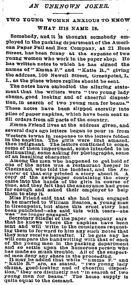 1/26/1893 NYT
