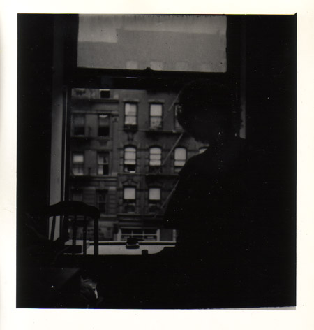 Contemplation from a tenement