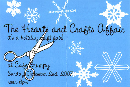 Hearts and Crafts Affair