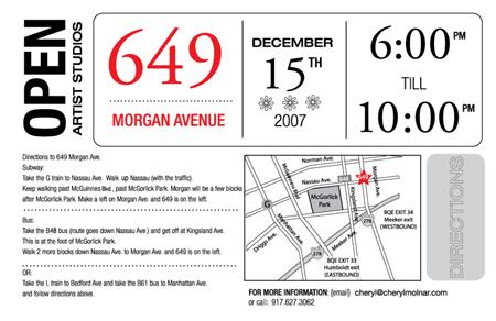 Open Studio, 649 Morgan Avenue