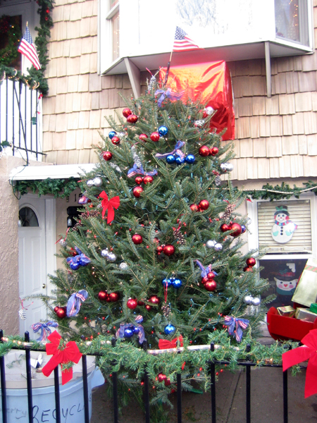Patriotic X-Mas Tree