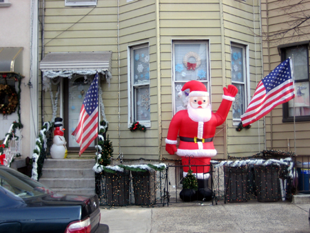 Santa on Hausman