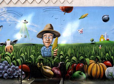 Cook Street Mural