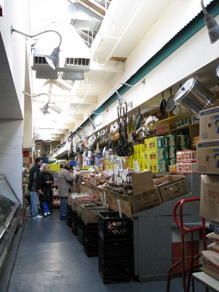 Moore Street Market, interior