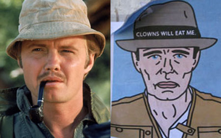 jon voight vs the clown man