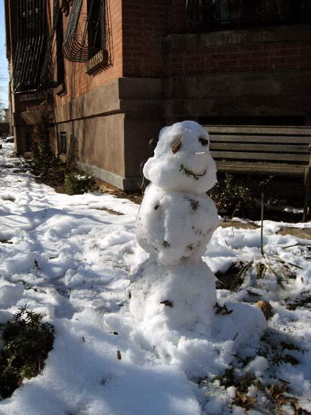 Marcy Avenue Snowman