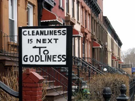 Next to godliness