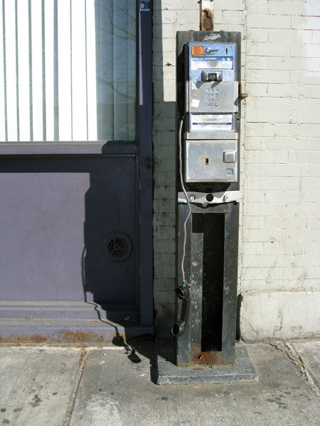 Bedford Avenue Pay Phone