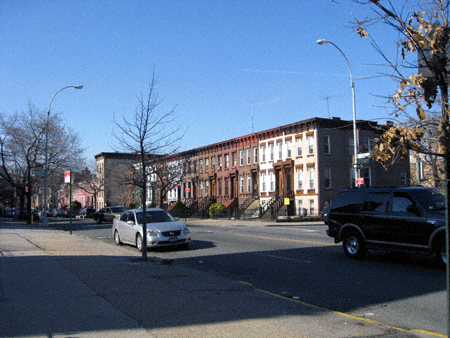 BUshwick Avenue at Menahan Street