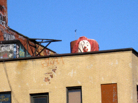 Spencer Street Clown