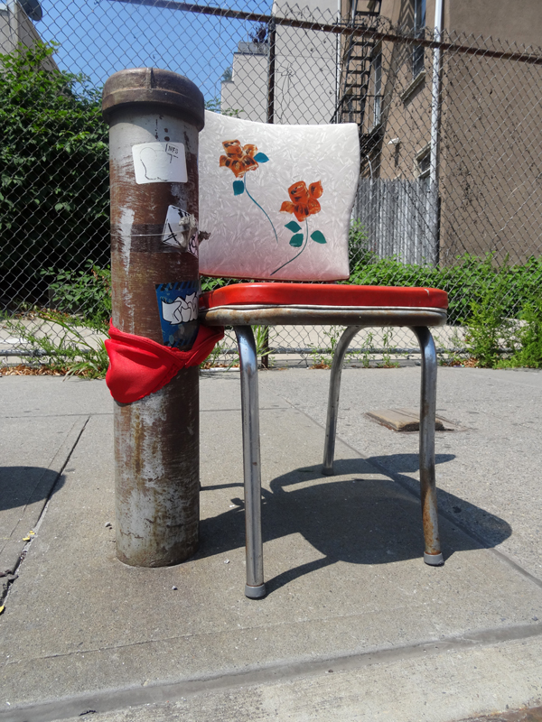 Bus Stop Seating nys