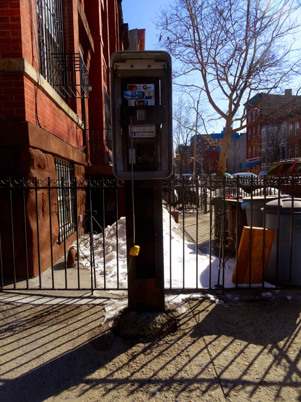 Pay Phone Lewis Avenue nys