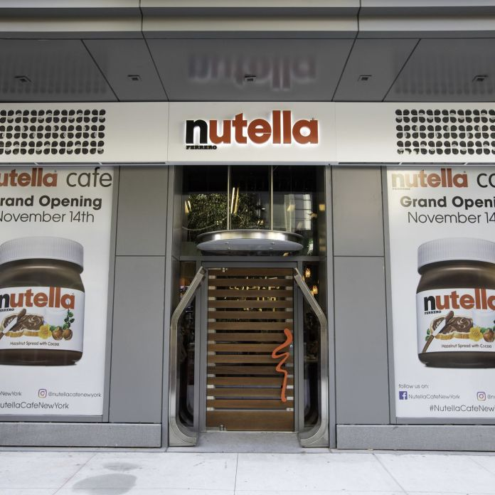 nutella - cafe - nyc