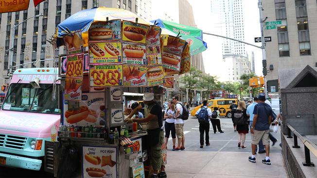 food carts - restaurants - nyc