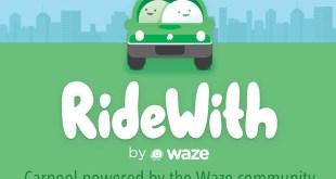 ridewith--google-waze-app-israel-covoiturage