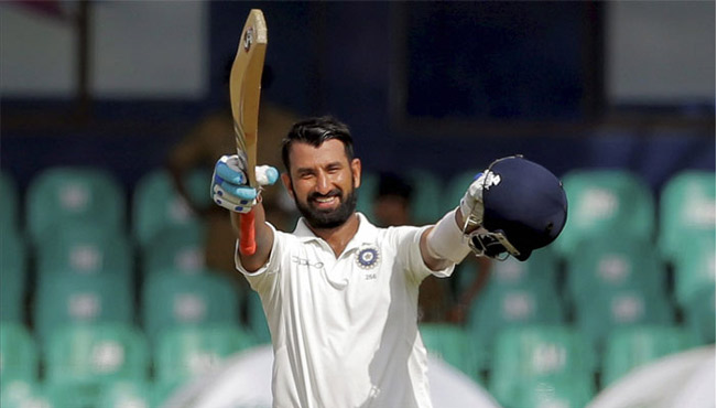 Pujara the Indian Batsman