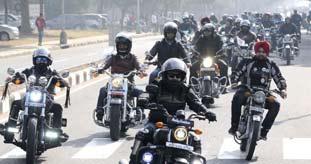 Military on Motorbikes