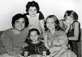 Shashi kapoor and family