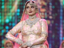 Rekha Dance at IIFA 2018 - Newzito