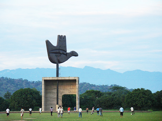 Open Hand - Places To visit in Chandigarh - Newzito