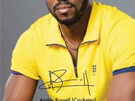 Monte Carlo signed Andre Russell as their Brand Ambassador
