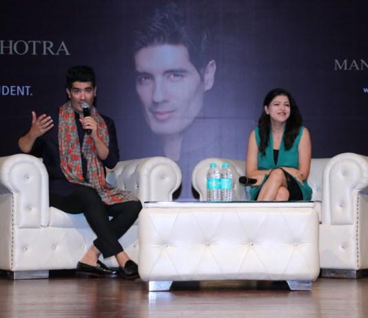 Manish Malhotra Conducts Live Class At Chandigarh