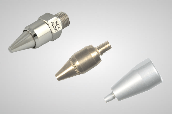 An image showing 3 different Air Nozzle models
