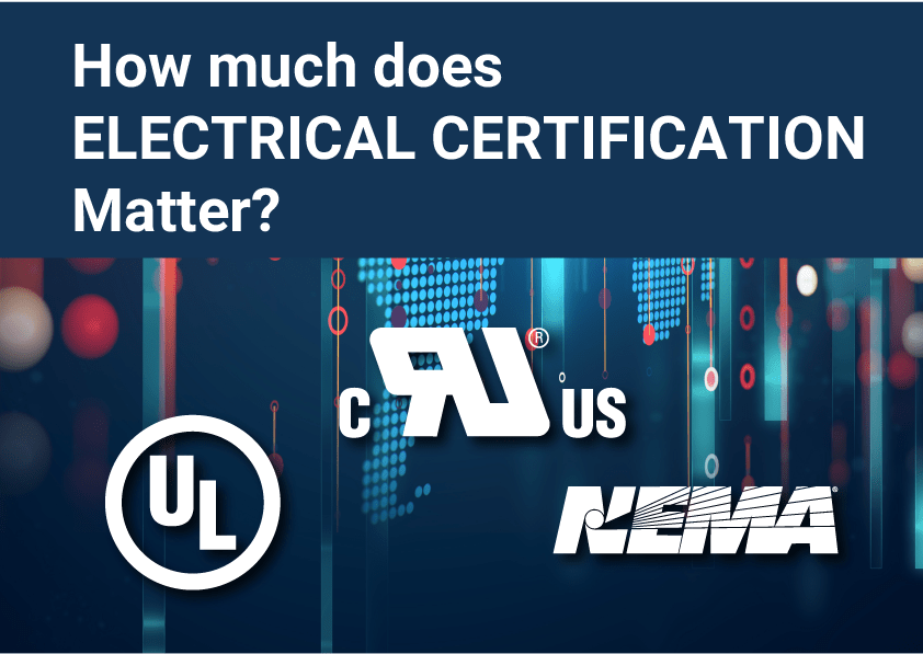 how much does electrical certification matters