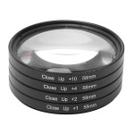 58MM Macro Close Up Filters