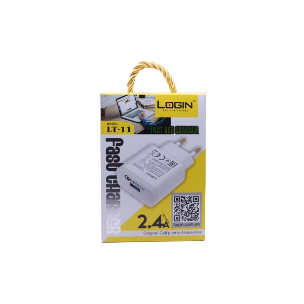 Login Smart Technology Charger LT 11