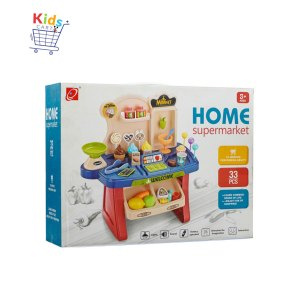 Toy Chef home supermarket deluxe set