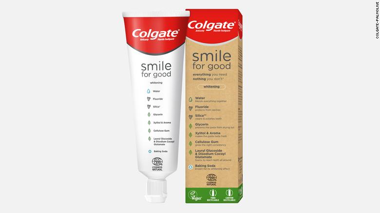 Colgate представила тюбик для зубной пасты, пригодный для переработки