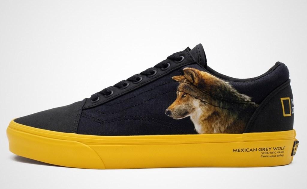 Новые кроссовки Vans получат дизайн от National Geographic