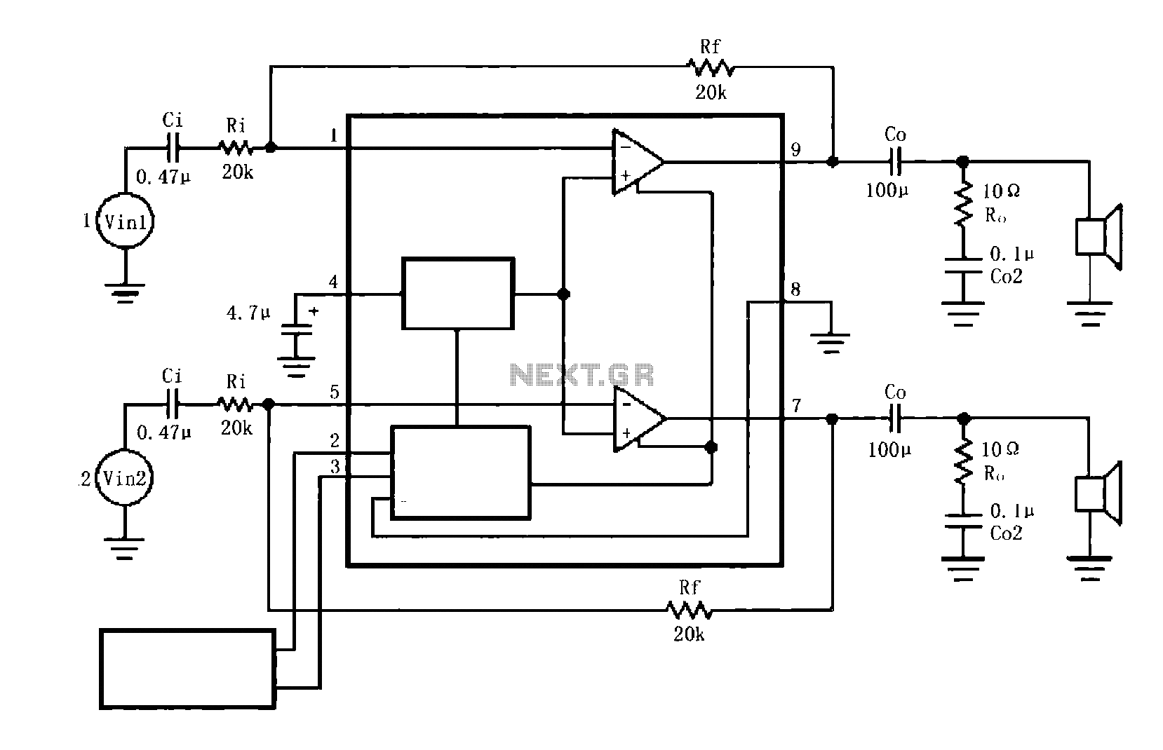 Audio Amplifier Circuit Audio Circuits Next