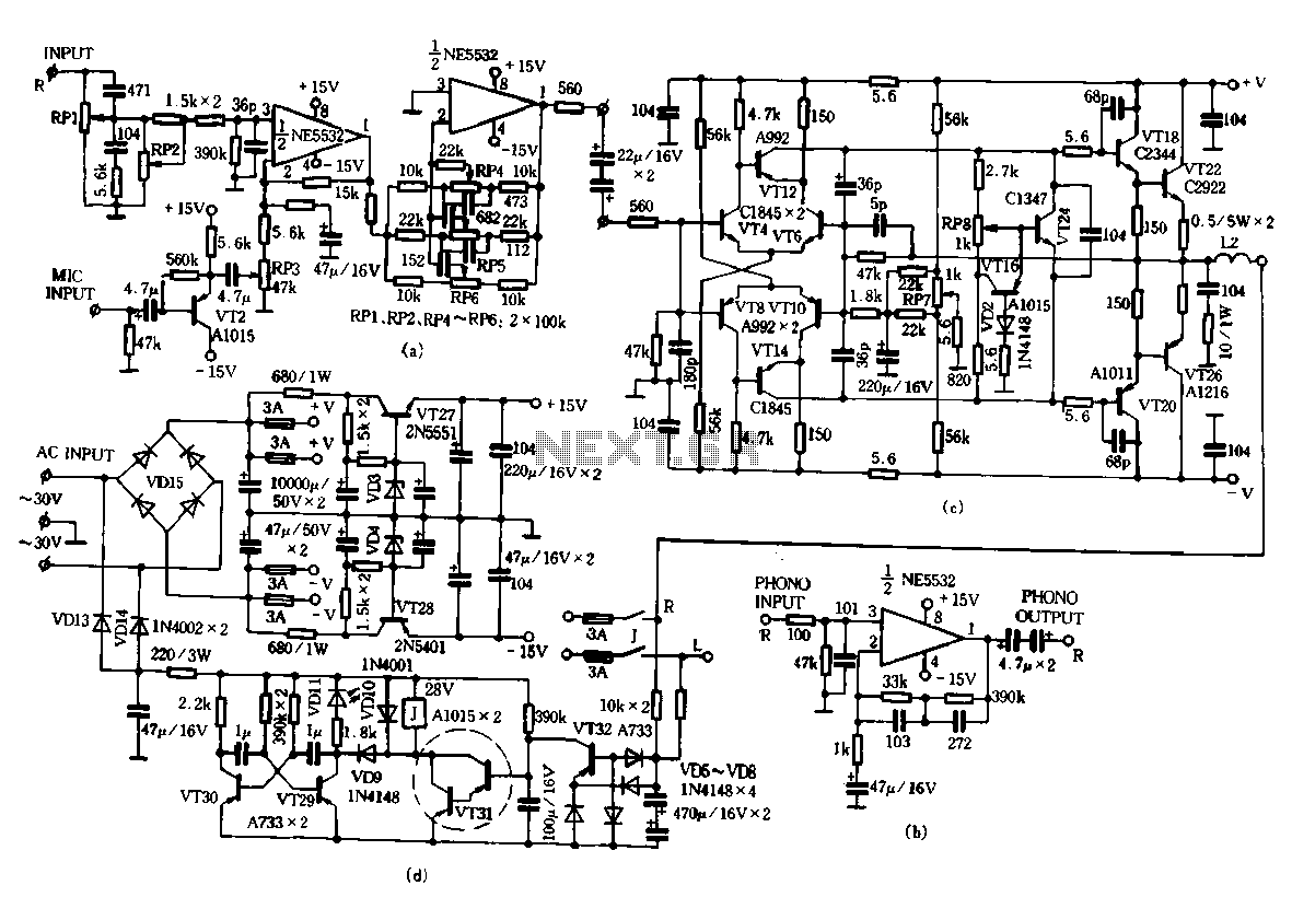 Ta Fever Amplifier Circuit Under Audio Amplifier