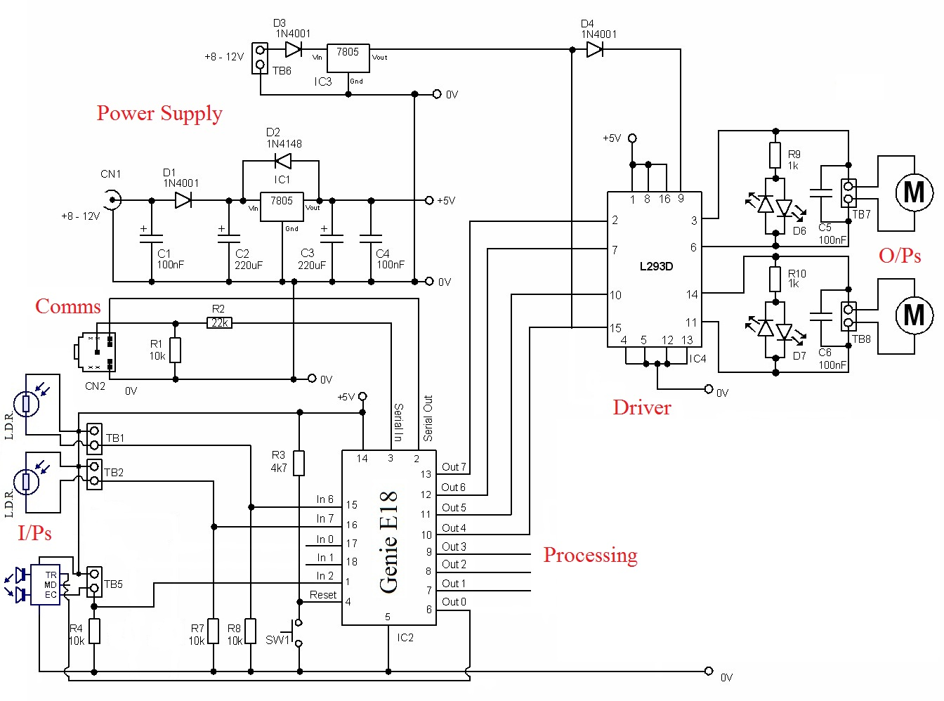 Motor Control Circuit Automation Circuits Next