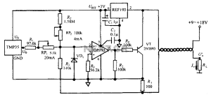 4 ~ 20mA transmitter circuit diagram TMP35 temperature