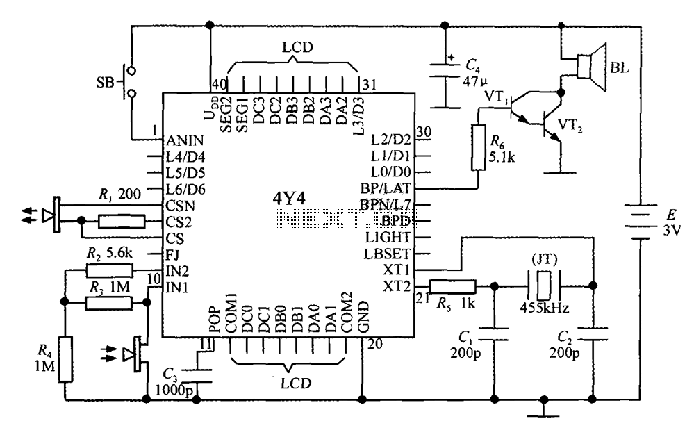 Intelligent Ultrasonic Ranging IC 4Y4 form a monolithic liquid crystal display rangefinder circuit diagram?resize\\\=665%2C419 wiring diagram for bill lawrence pickups on wiring download bill lawrence pickups wiring diagram at bakdesigns.co